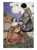 Rustic Music Giclee Print by Byam Shaw
