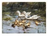A Family Outing Premium Giclee Print by John Frederick Hulk