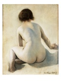 A Nude Reproduction procédé giclée par Pierre Carrier-belleuse