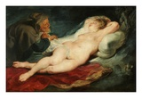 Angelica and the Hermit Giclee Print by Peter Paul Rubens