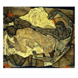 Lovers (Man and Woman I) Giclee Print by Egon Schiele