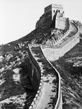 Vertical Section of Great Wall of China Photographic Print by  Bettmann
