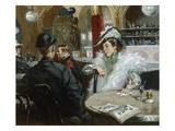 A Parisian Cafe Giclee Print by Gaetano de las Heras