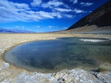 Badwater Deposit in Death Valley National Park Photographic Print by Phil Schermeister