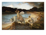 The Rape of Europa Giclee Print by Rene Menard