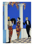 The Taste of Chales Giclee Print by George Barbier