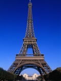 Eiffel Tower in Paris Photographic Print by Louie Psihoyos