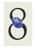 Number 8 Giclee Print by Steve Collier