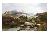On the Falloch, Scotland Giclee Print by Sidney Richard Percy