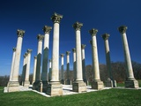 National Capitol Columns in the National Arboretum Photographic Print by Joseph Sohm