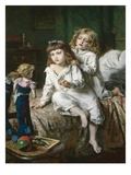 Christmas Morning Premium Giclee Print by William Hippon Gadsby