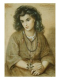 Calliope Coronio Giclee Print by Dante Gabriel Rossetti