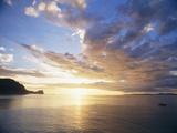 Macduff Everton - Boating Under Sunset in the Gulf of Nicoya - Fotografik Baskı