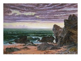 Sunset over the Sea Premium Giclee Print by William Bell Scott