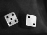 Pair of Dice Photographic Print by Henry Horenstein