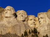 Mount Rushmore Memorial Photographic Print