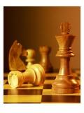 Chess Pieces Impression giclée par Matthias Kulka