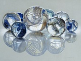 Glassies Marbles XIV Fotografie-Druck von Charles Bell