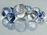 Glassies Marbles XIV Fotografie-Druck von Charles Bell