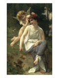 Love&#39;s Whisper Giclee Print by Guillaume Seignac