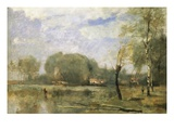 The Marshes of Arleux Giclee Print by Jean-Baptiste-Camille Corot