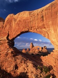 View Towards Turret Arch Photographic Print by Eric And David Hosking