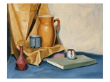 Still Life with Book Giclee Print by Mary Iverson
