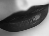 Woman&#39;s Lips Photographic Print by Henry Horenstein