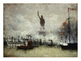 The Statue of Liberty Giclee Print by Francis Hopkinson Smith