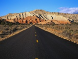 Highway Heading to Bryce Canyon Photographic Print by Carl & Ann Purcell