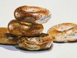 Bagels Photographic Print by Charles Bell