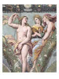Venus With Ceres and Juno From the Loggia of Cupid and Psyche Reproduction procédé giclée par  Raphael
