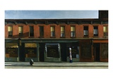 Early Sunday Morning Premium Giclee Print by Edward Hopper