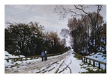 Road Toward the Farm, Saint-Simeon, Honfleur Giclee Print by Claude Monet