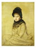 Portrait of Kathleen Newton Giclee Print by James Tissot