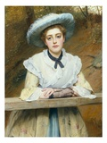 Sunday Best Giclee Print by Charles Sillem Lidderdale