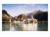 Lake Maggiore Giclee Print by William Stanley Haseltine