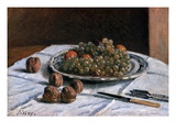 Grapes and Walnuts Giclee Print by Alfred Sisley