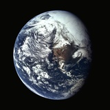 Earth Seen from Space Photographic Print