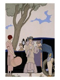 L'Ensie Giclee Print by George Barbier