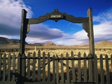 Gate To Historical Pioneer Cemetery Photographic Print by Joseph Sohm
