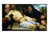 The Lamentation of Christ Giclée-tryk af Giovanni Girolamo Savoldo