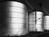 Grain Storage Photographic Print by Gordon Osmundson