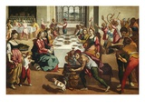 The Marriage at Cana Giclee Print by Andrea Boscoli