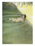 Water-Babies Giclee-vedos tekijänä Jessie Willcox Smith