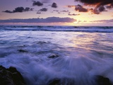 Fraser Island Coast at Sunrise Photographic Print by Theo Allofs