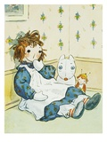 Book Illustration of a Raggedy Ann Doll by Johnny Gruelle Giclee Print