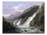 The Russell Falls, Tasmania Giclee Print by John Haughton Forrest