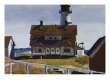Captain Strout's House Giclée-Druck von Edward Hopper