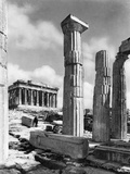 View Of Propylaes And Parthenon Photographic Print by Bettmann 